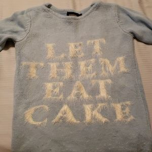 Let them eat cake sweater